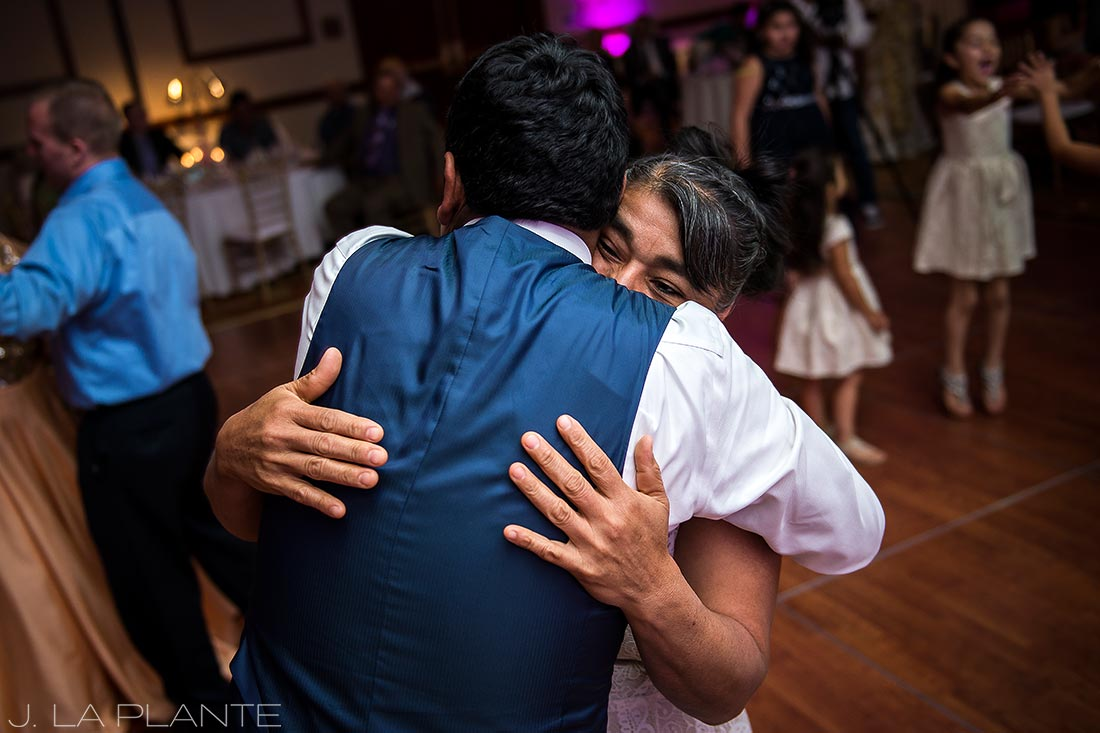 Wedding dance party | Hindu wedding in Colorado Springs | Cheyenne Mountain Resort wedding | J. La Plante Photo