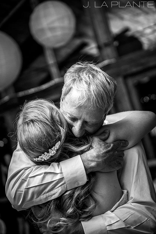 J. LaPlante Photo   Colorado Wedding Photographers   Lower Lake Ranch Wedding   Father Daughter Dance