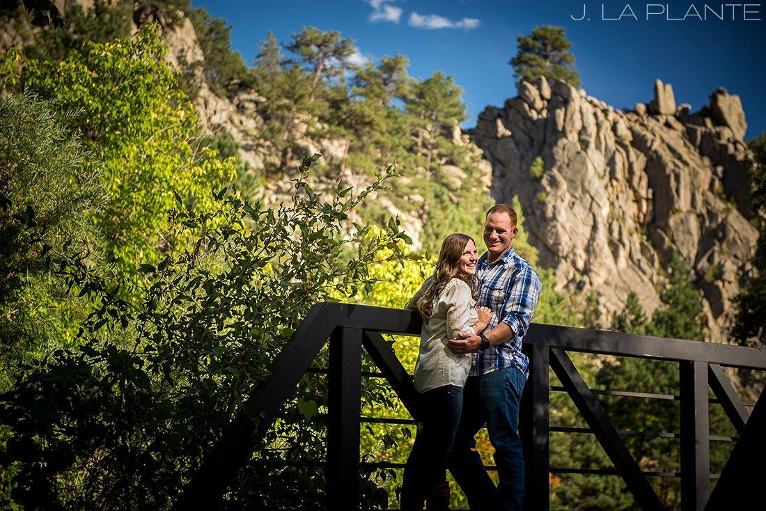 J. LaPlante Photo   Boulder Wedding Photographers   Boulder Canyon Trail Engagement   Fall Engagement Shoot