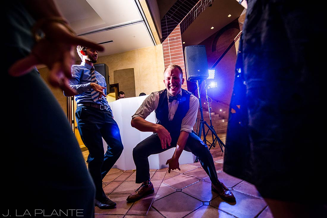 J. LaPlante Photo | Denver Wedding Photographers | University of Denver Wedding | Wedding Reception Dance Party