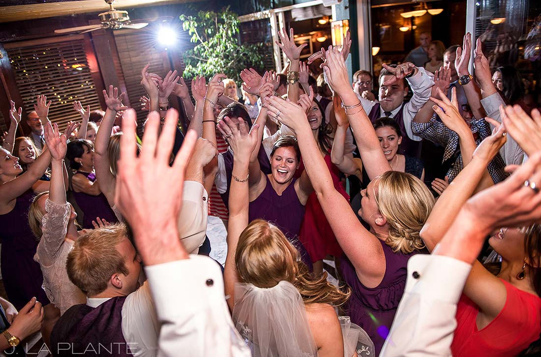 J. LaPlante Photo | Boulder Wedding Photographers | Greenbriar Inn Wedding | Wedding Reception Dance Party