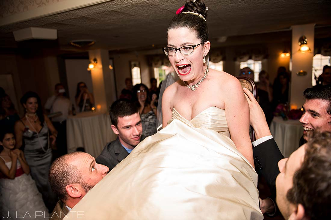 J. LaPlante Photo | Boulder Wedding Photographers | Hotel Boulderado Wedding | Jewish Wedding Hora Dance Photo