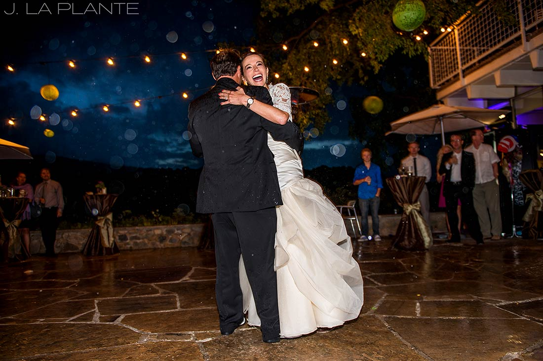 J. La Plante Photo | Aspen Wedding Photographer | Aspen Meadows Resort Wedding | Bride and Groom First Dance