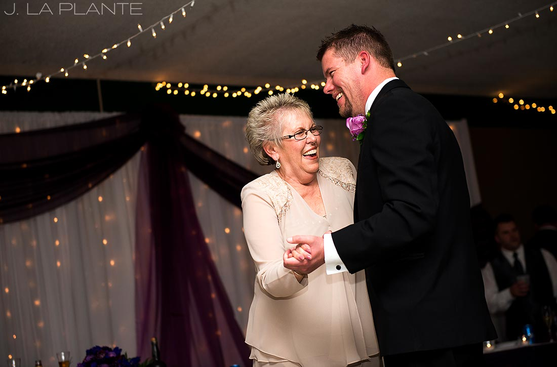 J. La Plante Photo | Michigan Wedding Photographer | Irish Hills Wedding | Mother Son Dance