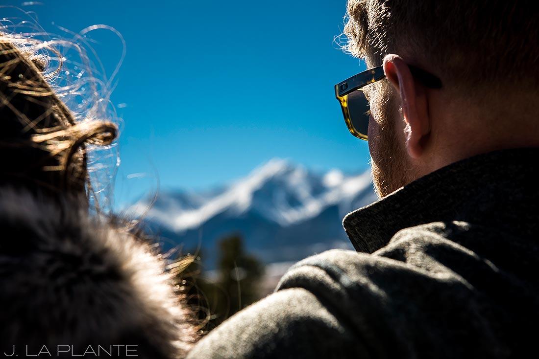 J. La Plante Photo | Colorado Wedding Photographer | Buena Vista Colorado Engagement | Bride and Groom Portrait