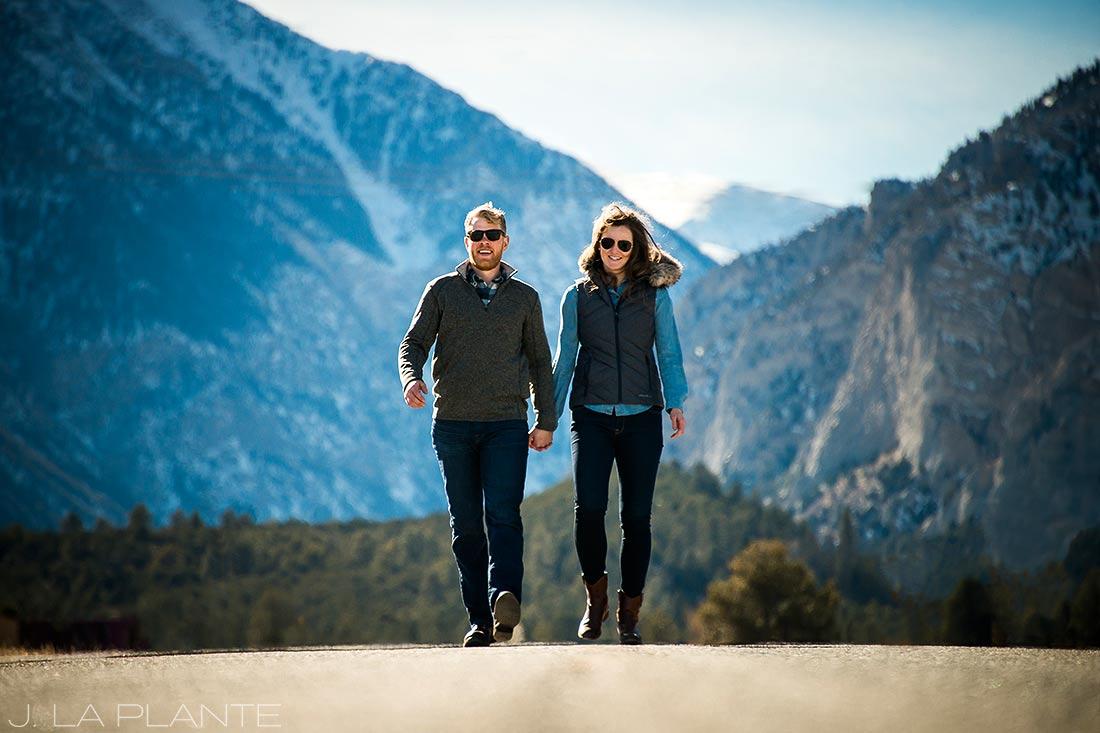 J. La Plante Photo | Colorado Wedding Photographer | Buena Vista Colorado Engagement | Bride and Groom at Collegiate Peaks