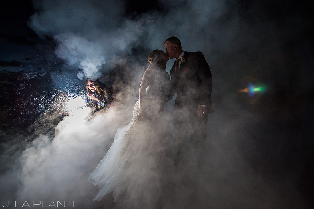 J. La Plante Photo | Colorado Wedding Photographers | Devil's Thumb Ranch Wedding | Bride and Groom Wedding Portrait