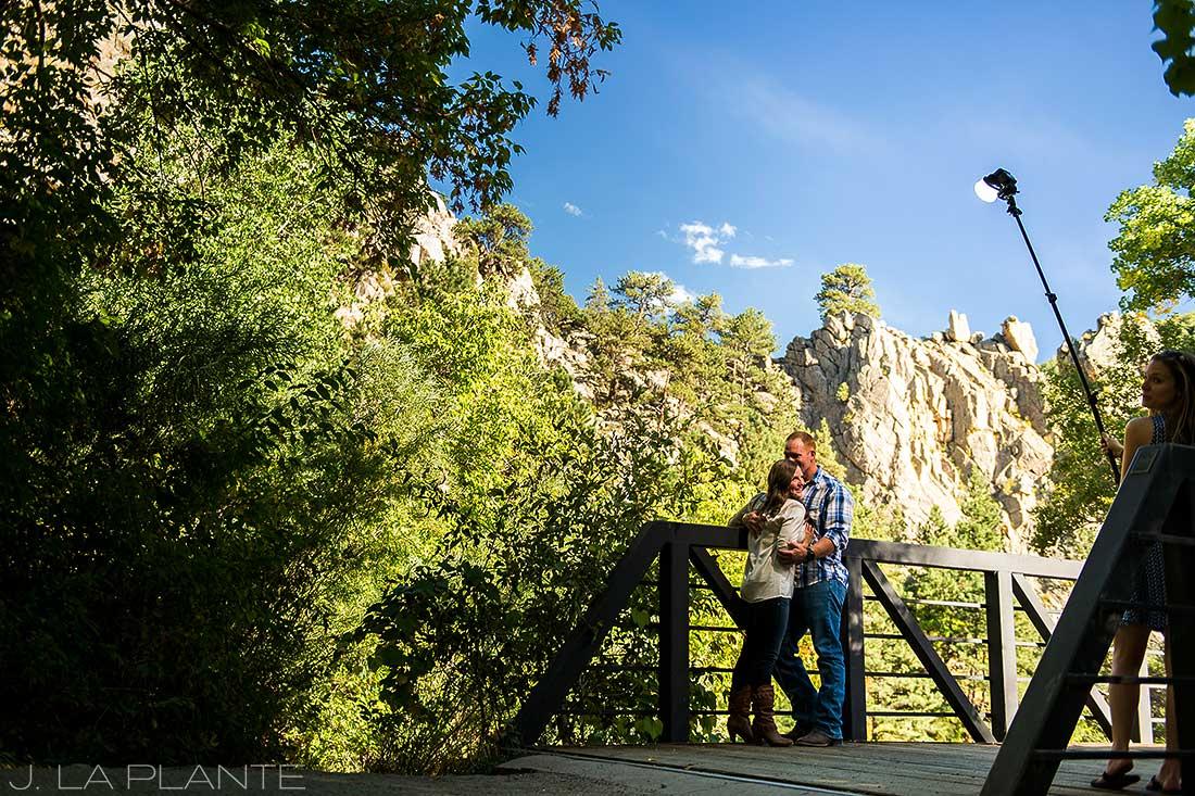 J. La Plante Photo | Colorado Wedding Photographer | Boulder Wedding Photography | Boulder Canyon Engagement | Fall Engagement