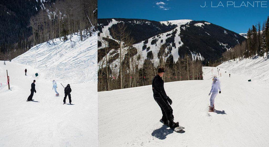 J. La Plante Photo | Colorado Wedding Photographer | Beaver Creek Wedding Photography | Beaver Creek Lodge Wedding | Snowboard Wedding