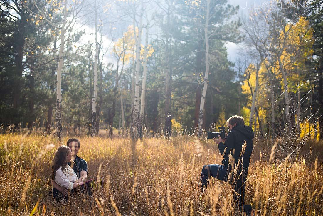 J. La Plante Photo | Colorado Wedding Photographer | Golden Wedding Photography | Golden Gate Canyon Engagement | Fall Engagement