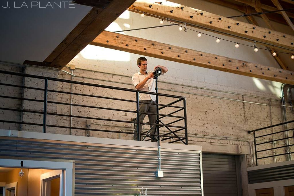 J. La Plante Photo | Colorado Wedding Photographer | Denver Wedding Photography | Studios at Overland Crossing Wedding | Urban Industrial Wedding