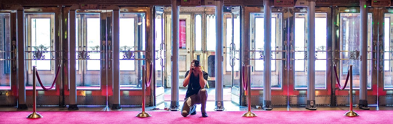Fox Theatre Detroit Wedding | Destination wedding photographer | J La Plante Photo