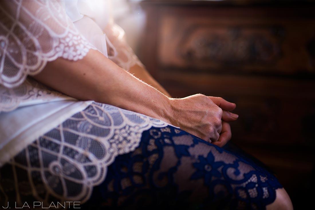 Bride getting ready | Race & Religious Wedding | New Orleans Destination Wedding Photography | J. La Plante Photo