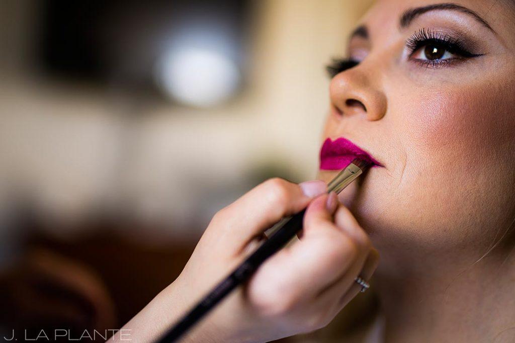 Pinup wedding makeup | Race & Religious Wedding | New Orleans Destination Wedding Photography | J. La Plante Photo