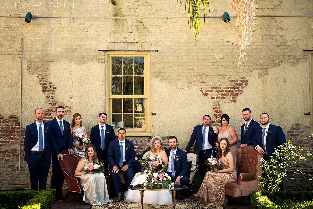 Vanity Fair wedding photo | Race & Religious Wedding | New Orleans Destination Wedding Photography | J. La Plante Photo