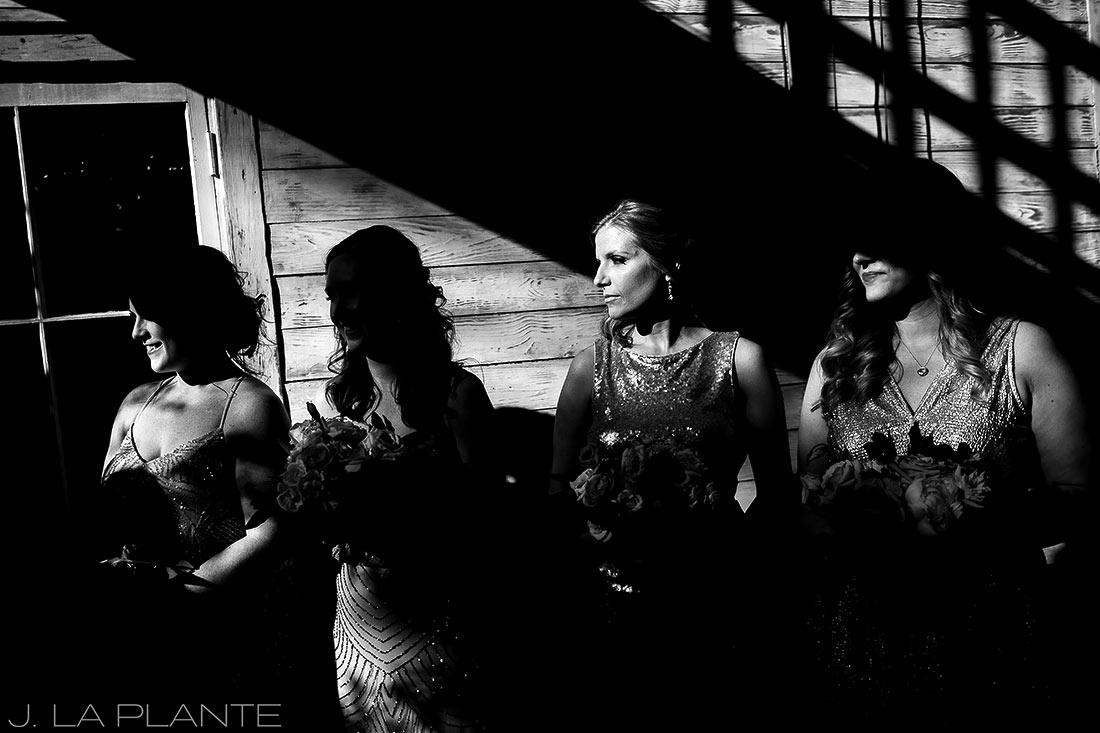 Dramatic bridesmaid photo | Race & Religious Wedding | New Orleans Destination Wedding Photography | J. La Plante Photo