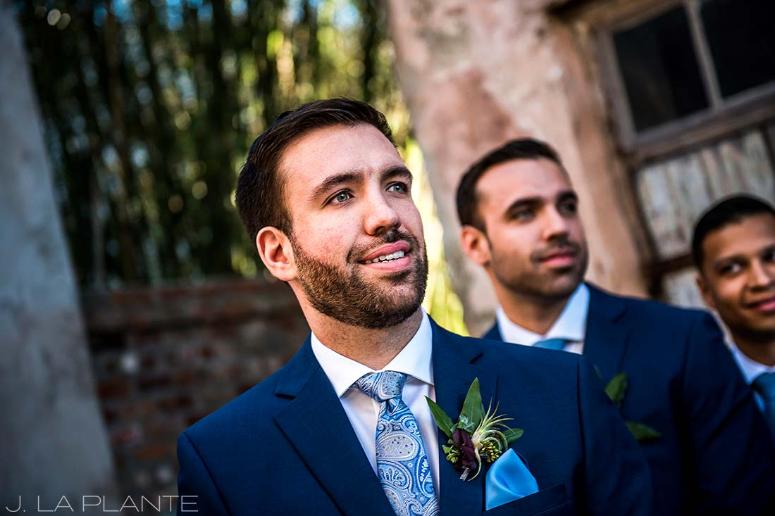 Groom seeing bride for first time | Race & Religious Wedding | New Orleans Destination Wedding Photography | J. La Plante Photo