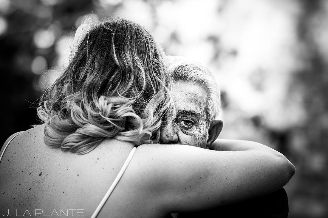 Father of the bride crying | Race & Religious Wedding | New Orleans Destination Wedding Photography | J. La Plante Photo