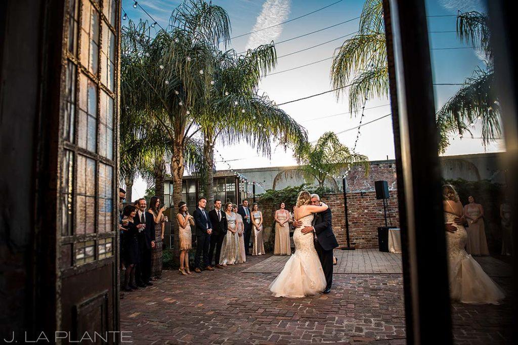 Father of the bride dance | Race & Religious Wedding | New Orleans Destination Wedding Photography | J. La Plante Photo