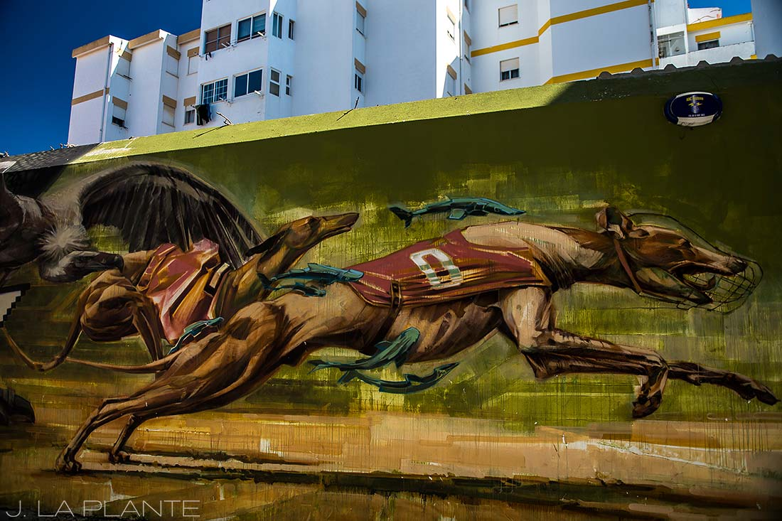 street art in lagos portugal