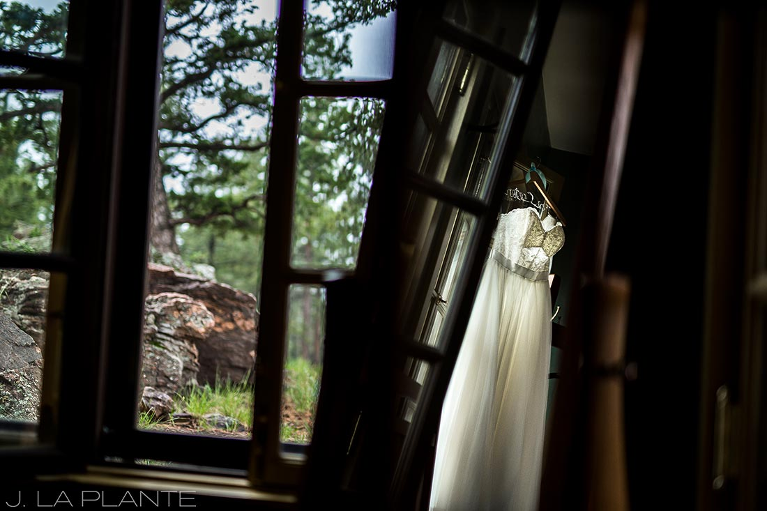 Boettcher Mansion wedding | Wedding dress | J La Plante Photo | Denver Wedding Photographer