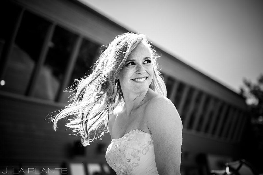 Mount Vernon Country Club Wedding | Bride laughing | Denver wedding photographer | J La Plante Photo