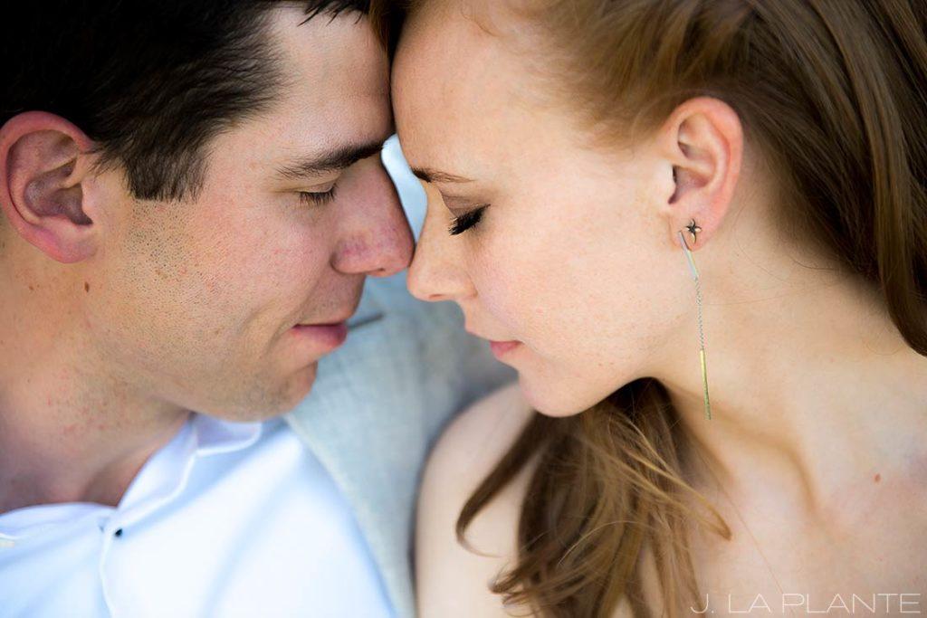 Mount Vernon Country Club Wedding | Bride and groom closeup | Denver wedding photographer | J La Plante Photo
