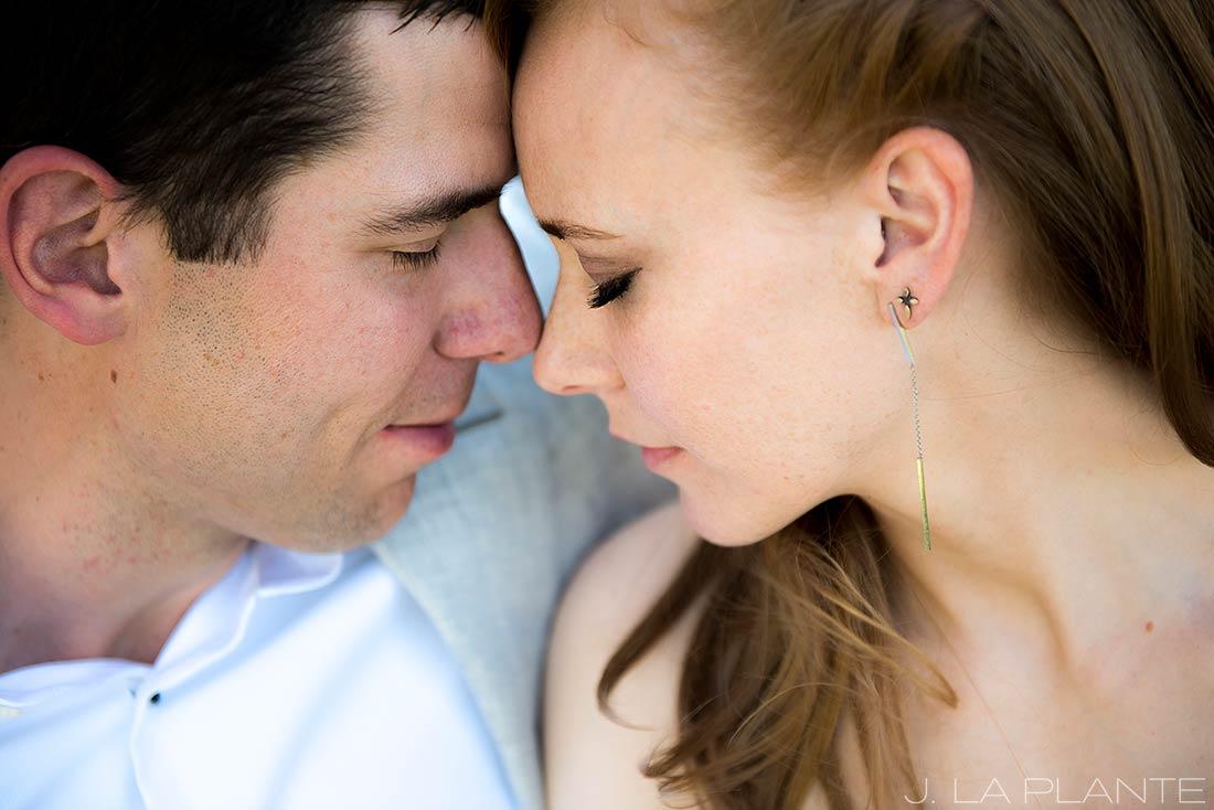 Mount Vernon Country Club Wedding   Bride and groom closeup   Denver wedding photographer   J La Plante Photo