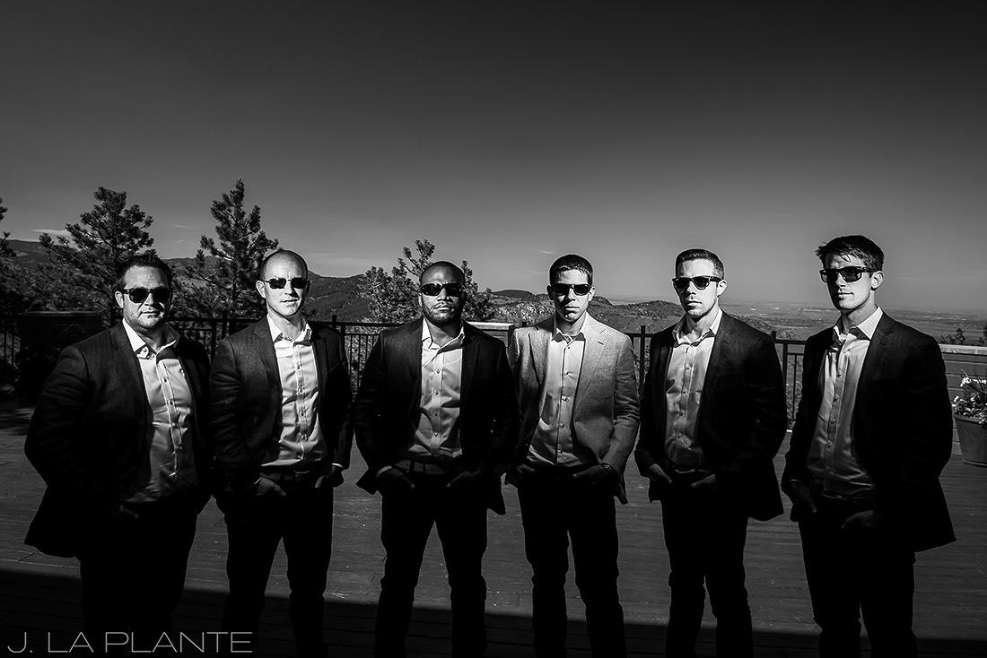 Mount Vernon Country Club Wedding   Cool groomsmen photo   Denver wedding photographer   J La Plante Photo