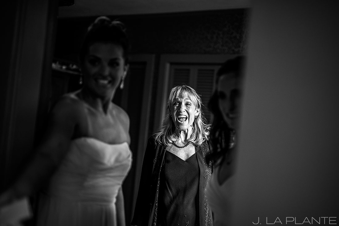 Boettcher Mansion wedding | Mother of the bride | J La Plante Photo | Denver Wedding Photographer