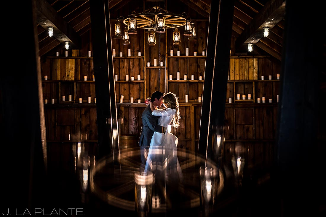 Unique bride and groom portrait | Crooked Willow Farms Wedding | Denver Wedding Photographer | J La Plante Photo