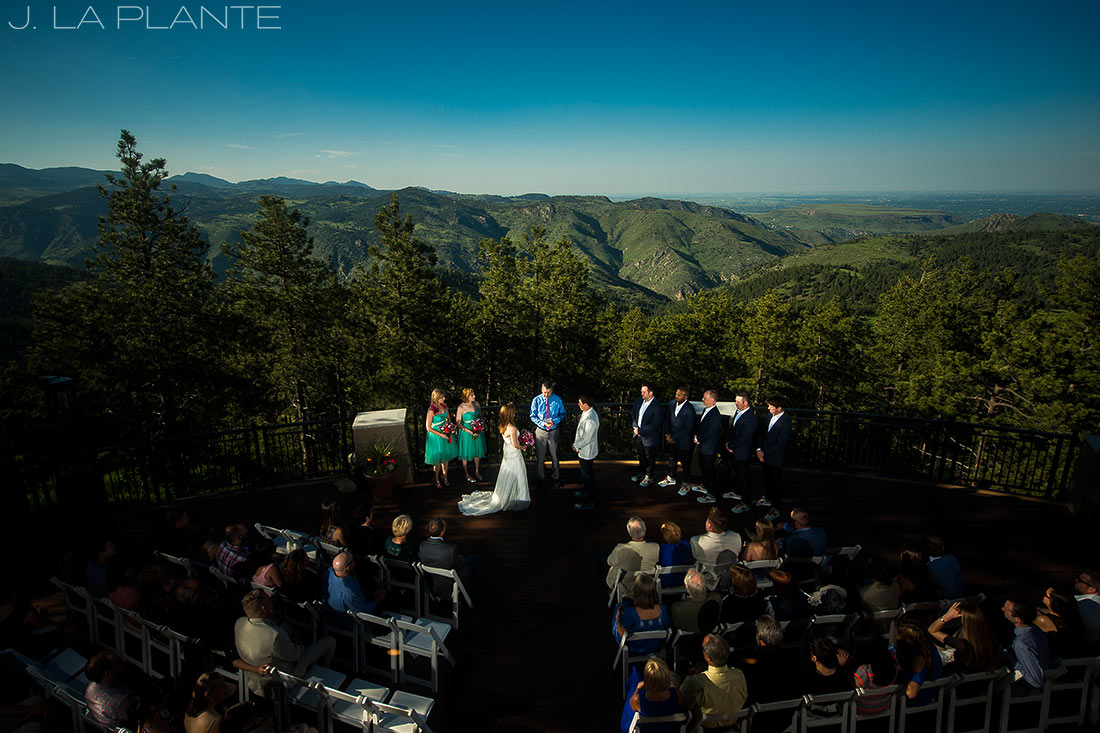 Mount Vernon Country Club Wedding   Mountain wedding ceremony   Denver wedding photographer   J La Plante Photo
