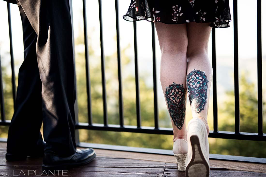 Mount Vernon Country Club Wedding   Cool tattoos   Denver wedding photographer   J La Plante Photo