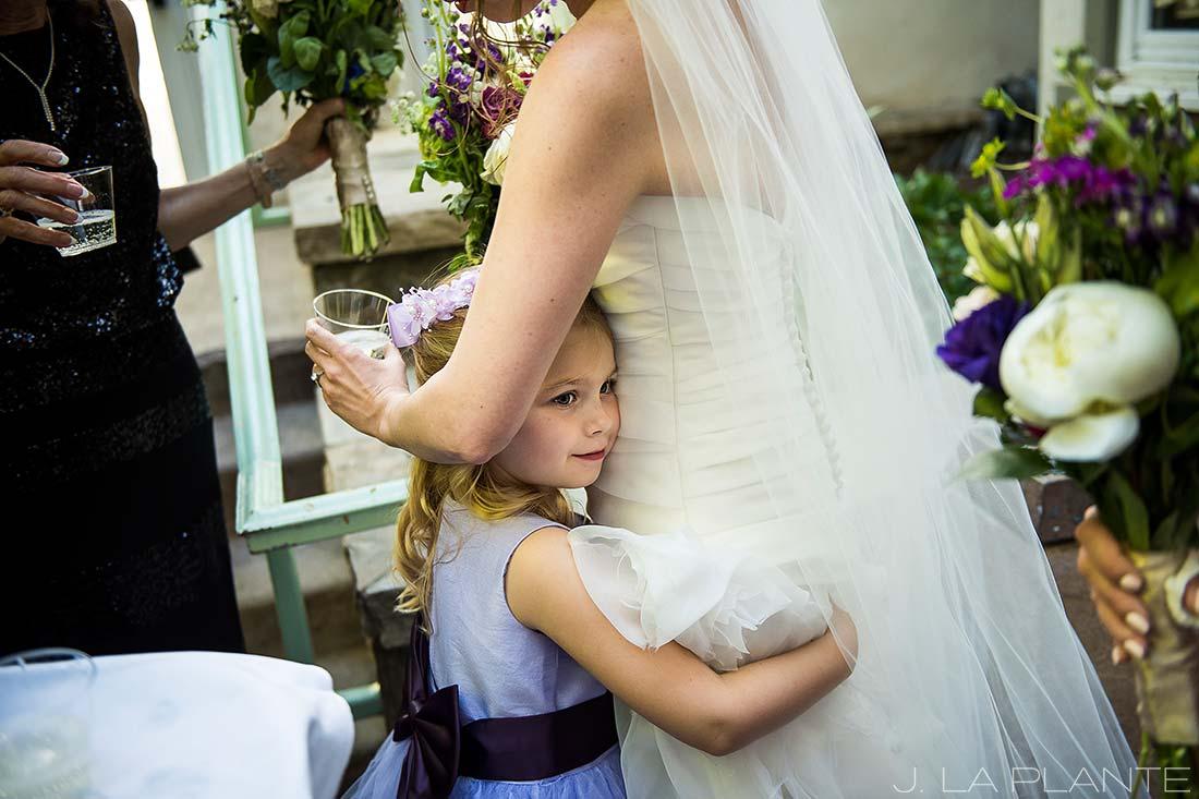 Sonnenalp Wedding | Cute flower girl | Vail wedding photographer | J La Plante Photo