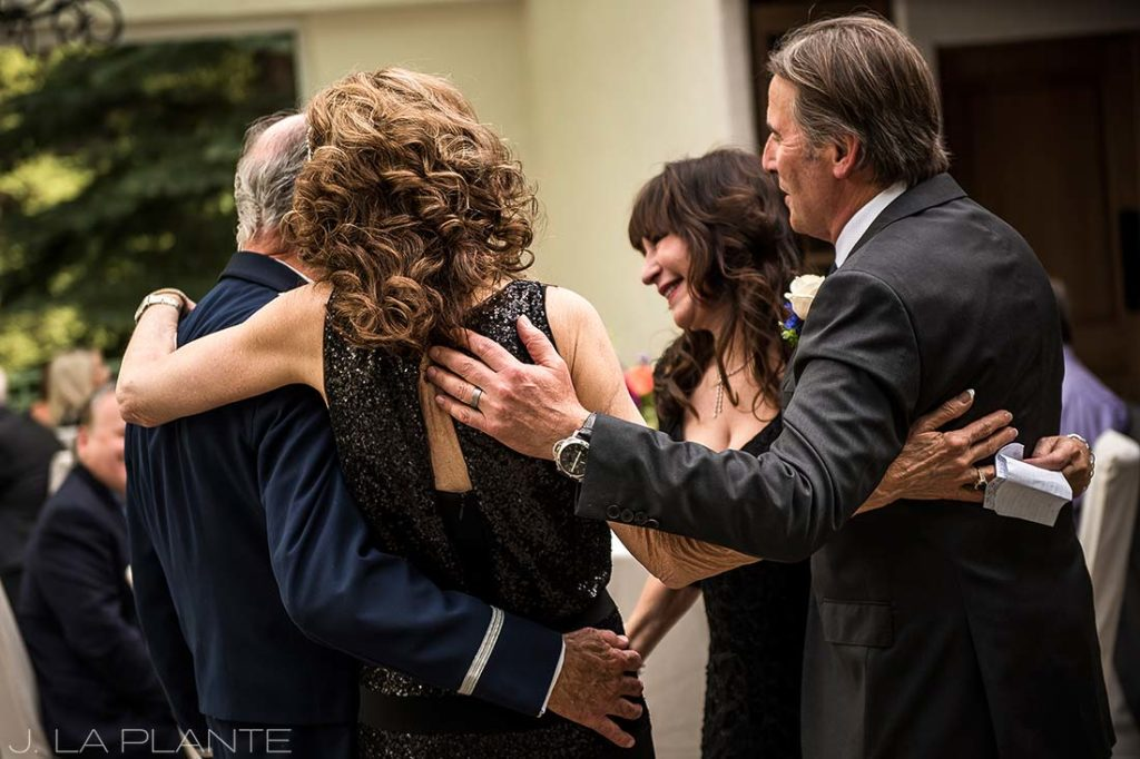 Sonnenalp Wedding | Grand entrance | Vail wedding photographer | J La Plante Photo