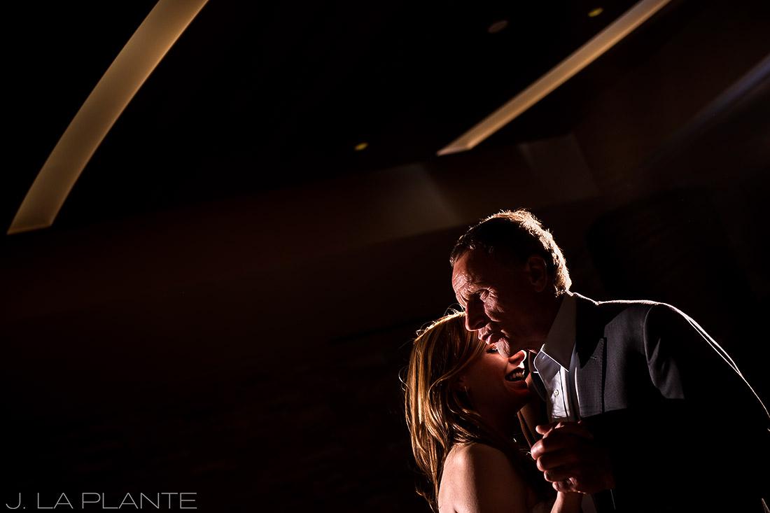Mount Vernon Country Club Wedding   Father of the bride dance   Denver wedding photographer   J La Plante Photo