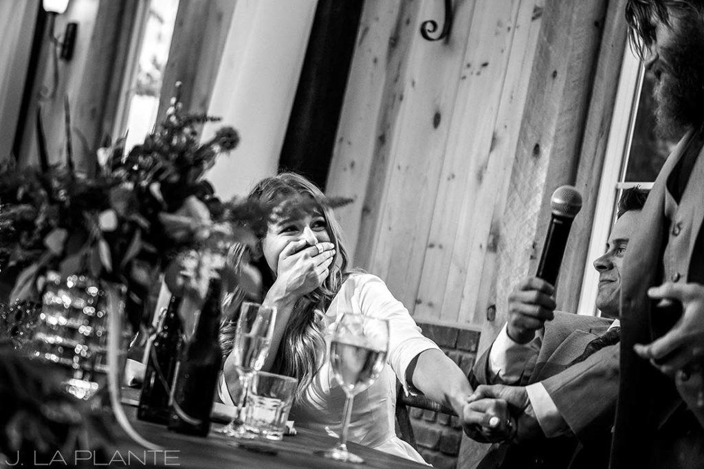 Best man speech   Crooked Willow Farms Wedding   Denver Wedding Photographer   J La Plante Photo