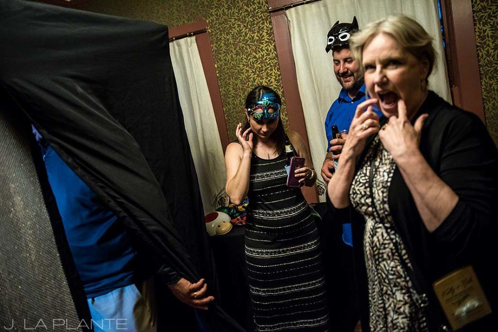Boettcher Mansion wedding | Wedding Photobooth | J La Plante Photo | Denver Wedding Photographer