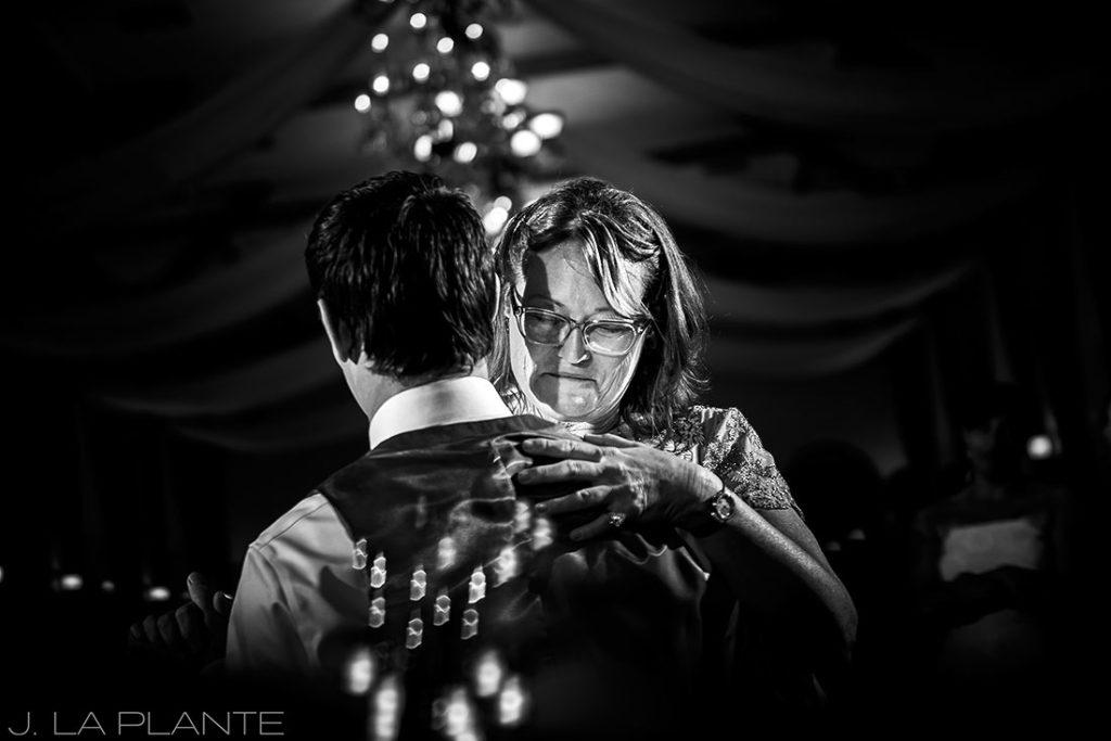 Mother son dance   Crooked Willow Farms Wedding   Denver Wedding Photographer   J La Plante Photo