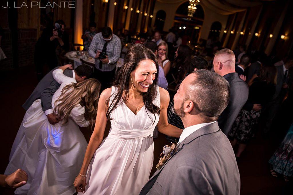 Wedding dance party   Crooked Willow Farms Wedding   Denver Wedding Photographer   J La Plante Photo