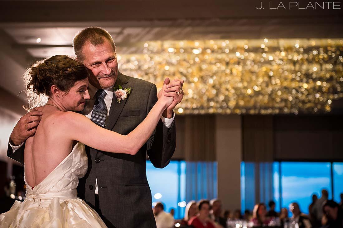 Grand Hyatt Denver Wedding   Father daughter dance   Same Sex Wedding Photographer   J La Plante Photo