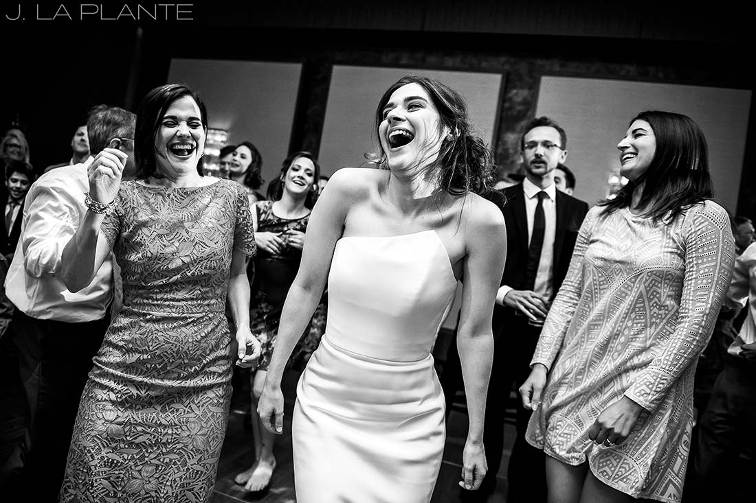 Grand Hyatt Denver Wedding   Wedding reception dance party   Same Sex Wedding Photographer   J La Plante Photo