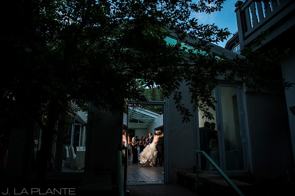 Sonnenalp Wedding | First dance | Vail wedding photographer | J La Plante Photo