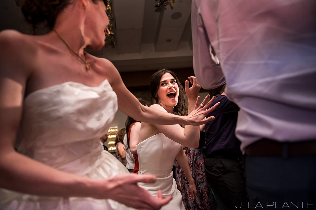 Grand Hyatt Denver Wedding   Wedding dance party   Same Sex Wedding Photographer   J La Plante Photo
