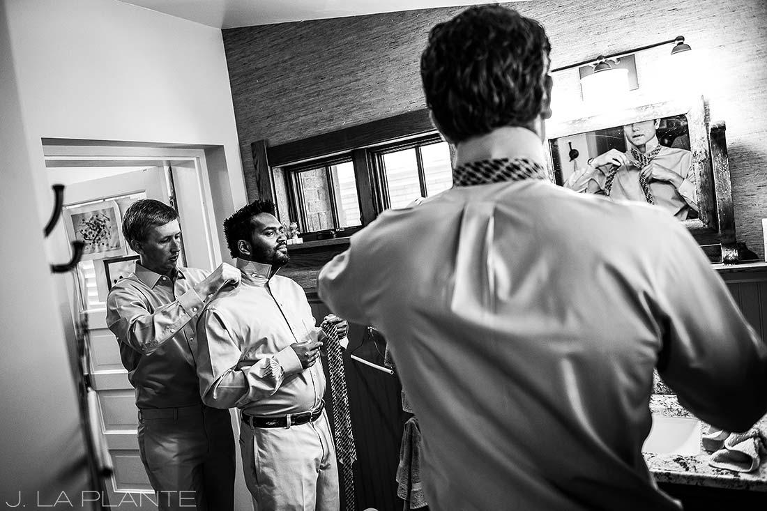 Washington Park Wedding | Groom getting ready | Denver wedding photographer | J La Plante Photo