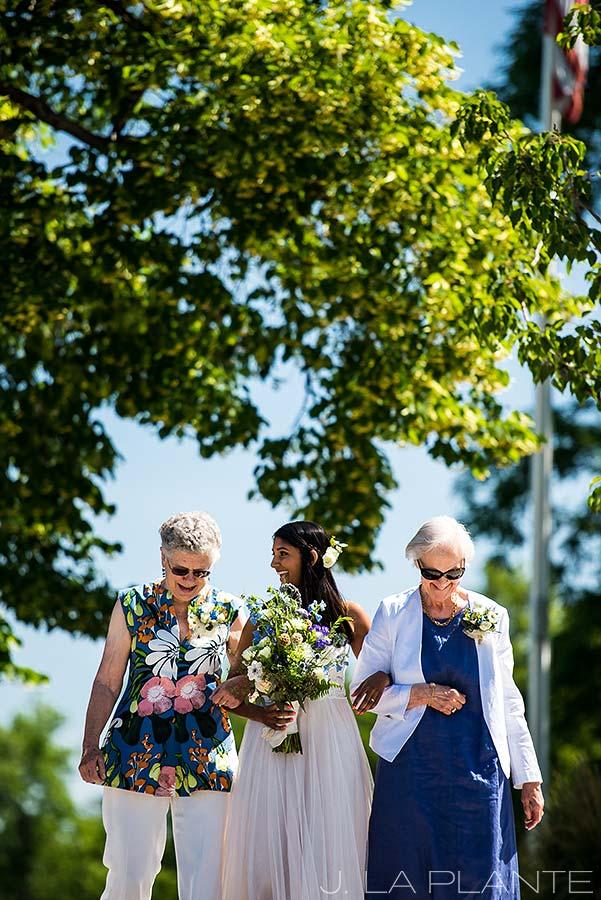 Washington Park Wedding | Garden wedding ceremony | Denver wedding photographer | J La Plante Photo