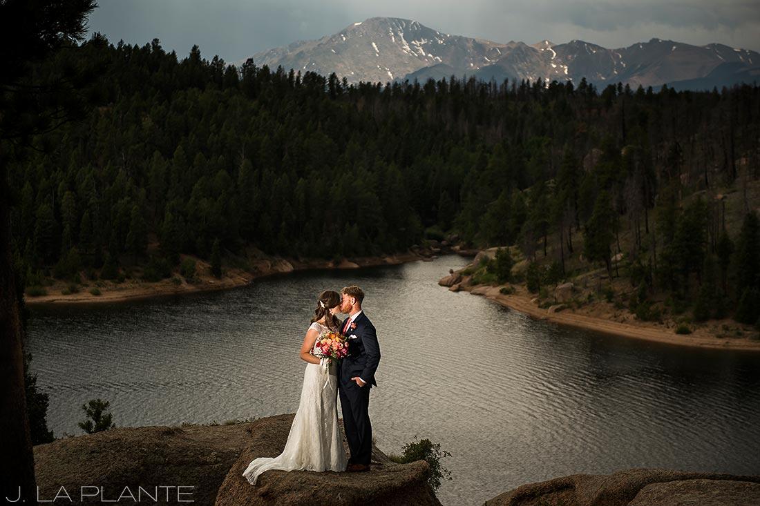 Edgewood Inn Wedding   Colorado Springs Wedding Photographer   Pikes Peak wedding photo   J La Plante Photo