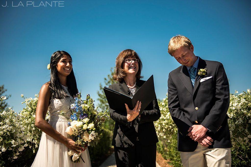 Washington Park Wedding   Garden wedding ceremony   Denver wedding photographer   J La Plante Photo