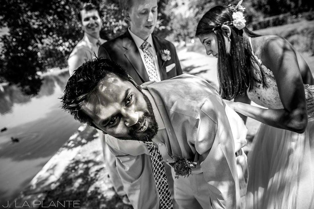 Washington Park Wedding   Signing marriage license   Denver wedding photographer   J La Plante Photo