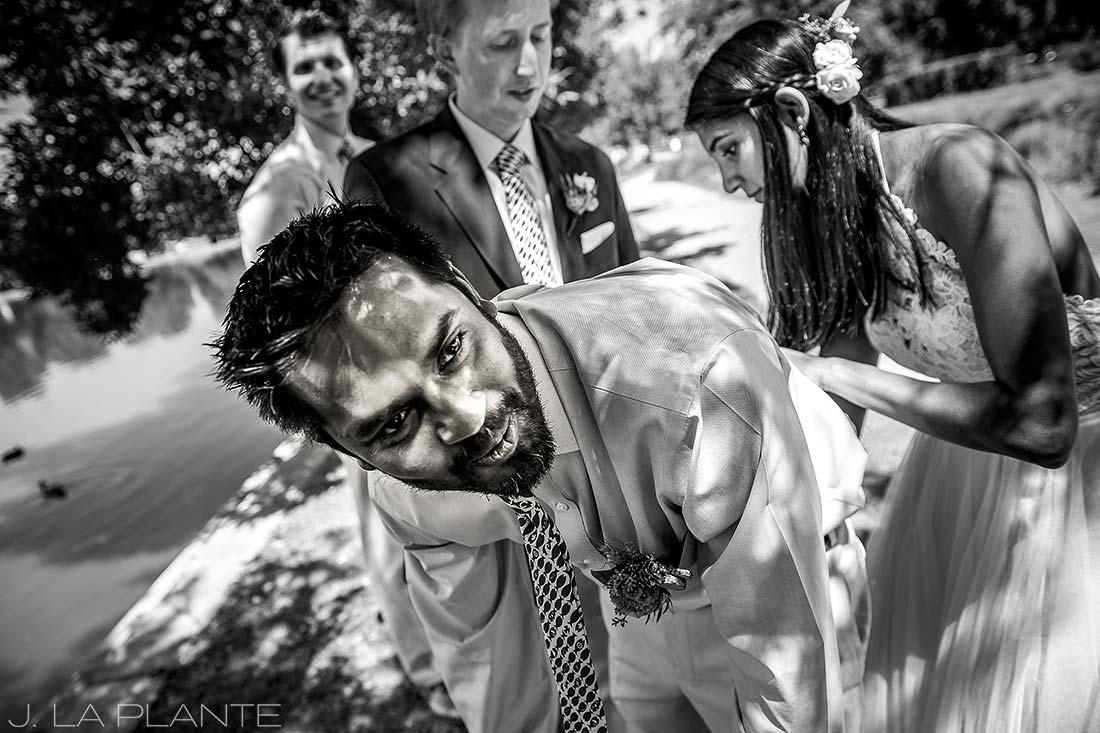 Washington Park Wedding | Signing marriage license | Denver wedding photographer | J La Plante Photo